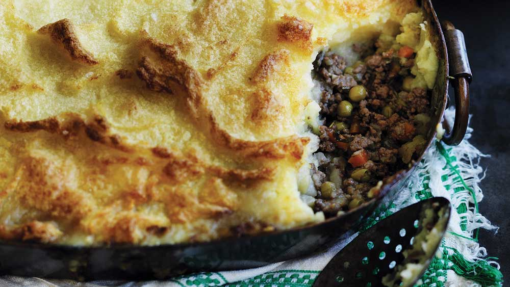 Will's shepherd's pie recipe from the 'Will and Steve: Home Cook, Aspiring Chef' cookbook