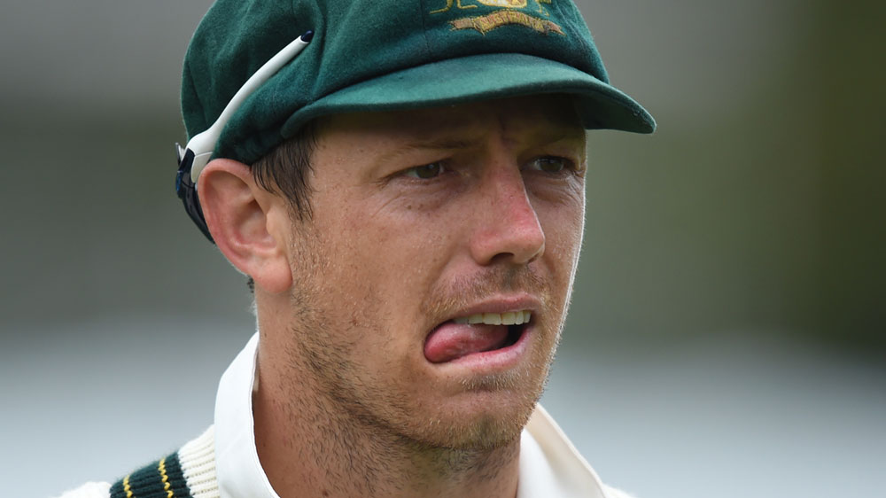 James Pattinson has re-aggravated a lower back injury that will keep him out of the Ashes.(AAP)
