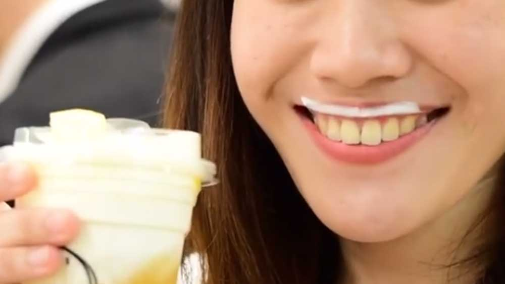 Bizarre cheese tea drink sparks worldwide Instagram cheese moustache trend