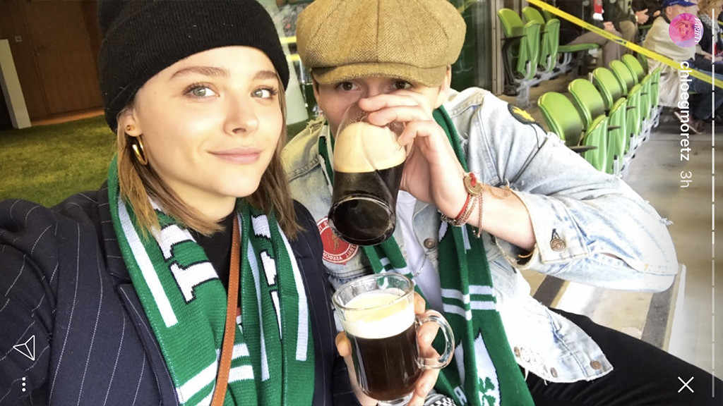 Brooklyn Beckham and Chloe Moretz are more loved up than ever