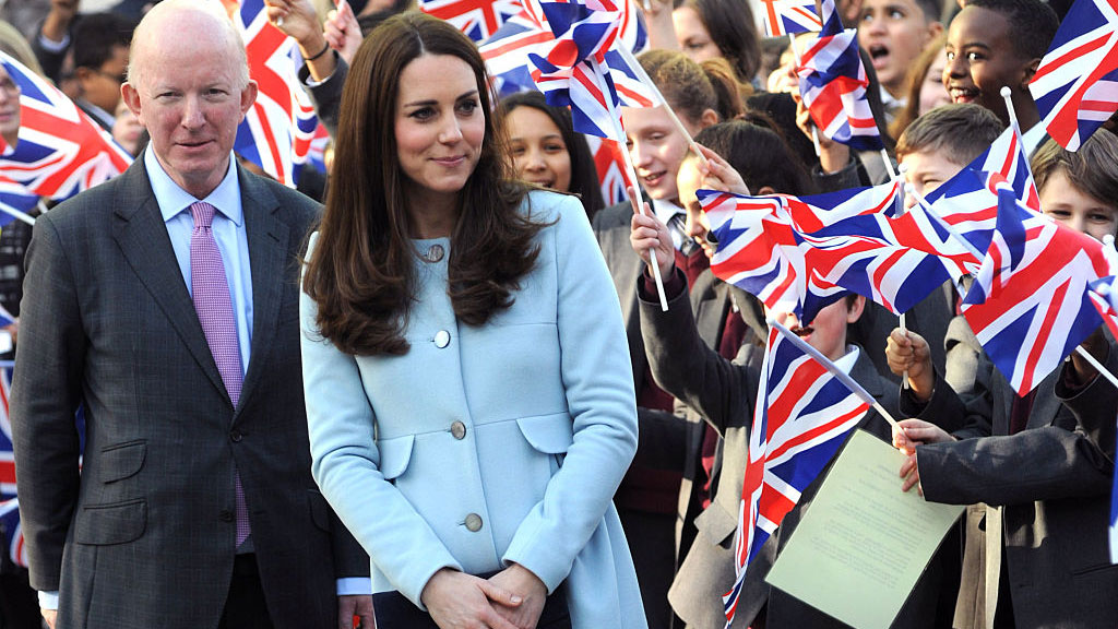 Kate Middleton Debuts Baby Bump at First Appearance Since Announcing Her Pregnancy