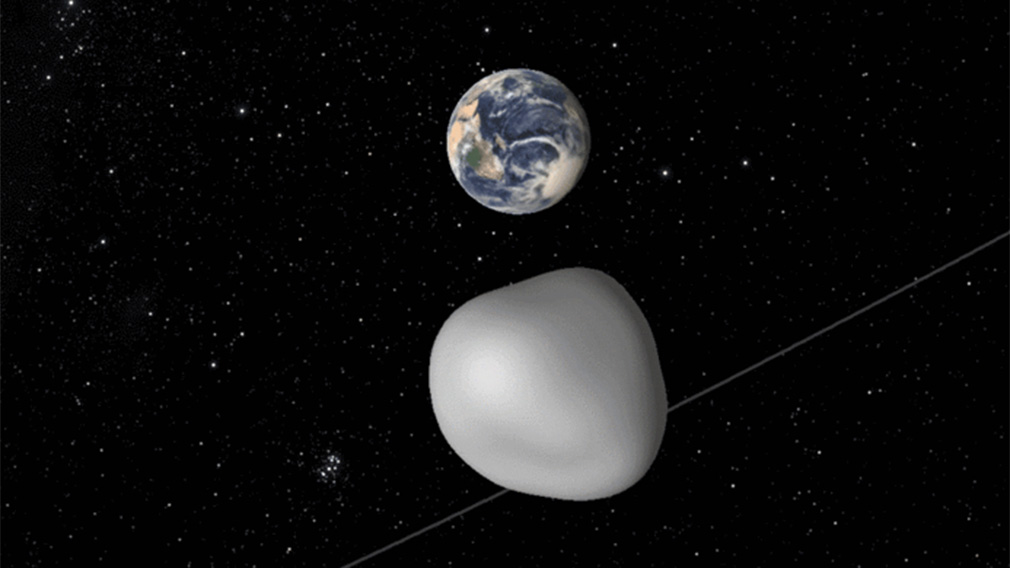 Asteroid's near-miss with Earth to test worldwide early ...