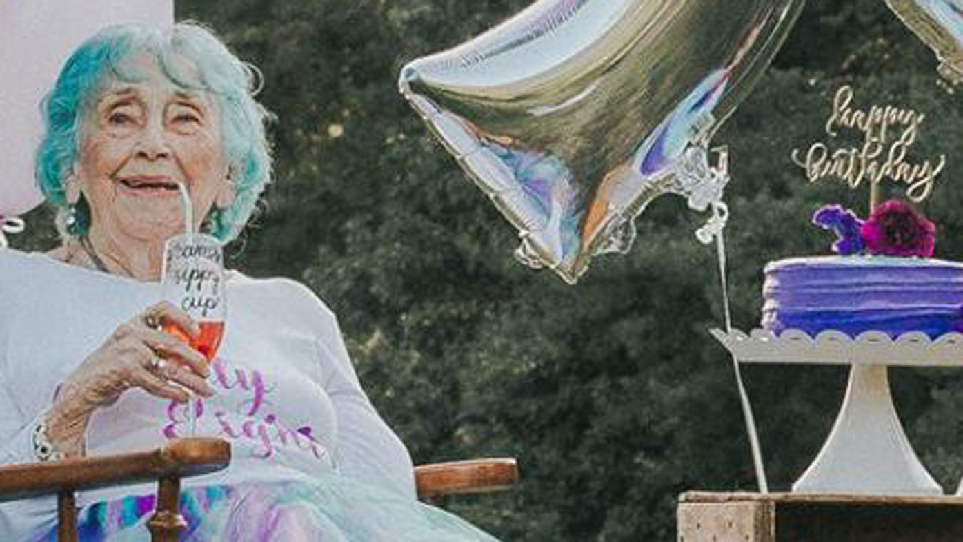 Epic Photoshoot Celebrate Grandma S 98th Birthday 9honey