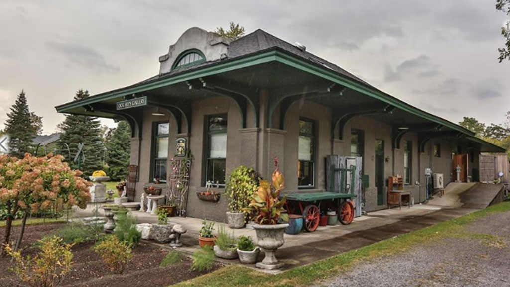 Converted train station for sale for Railroad stations for sale