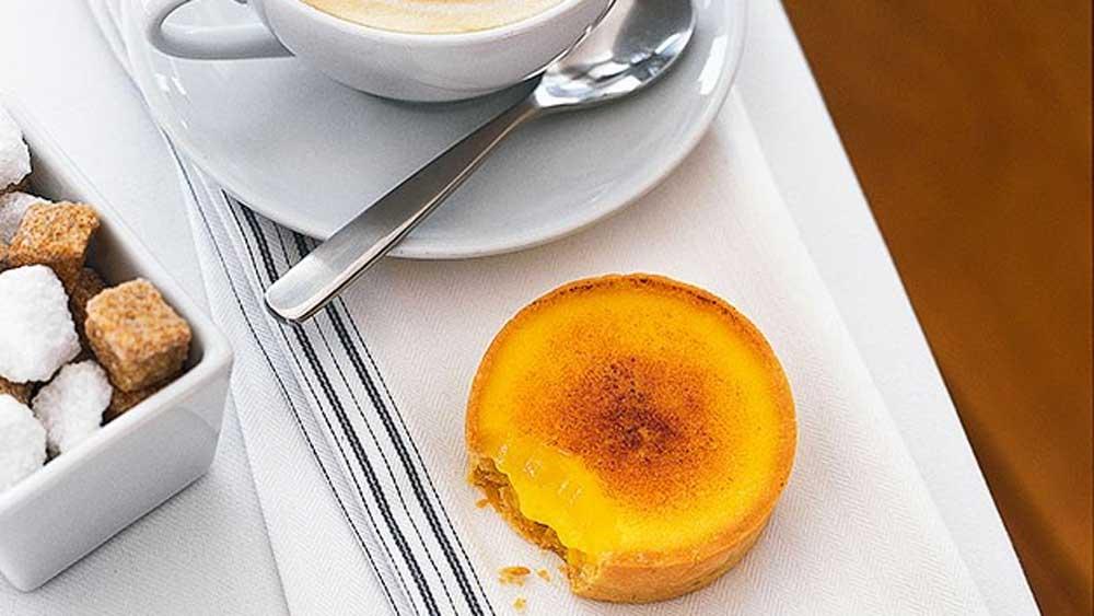 Matt Moran's baked passionfruit tartlets