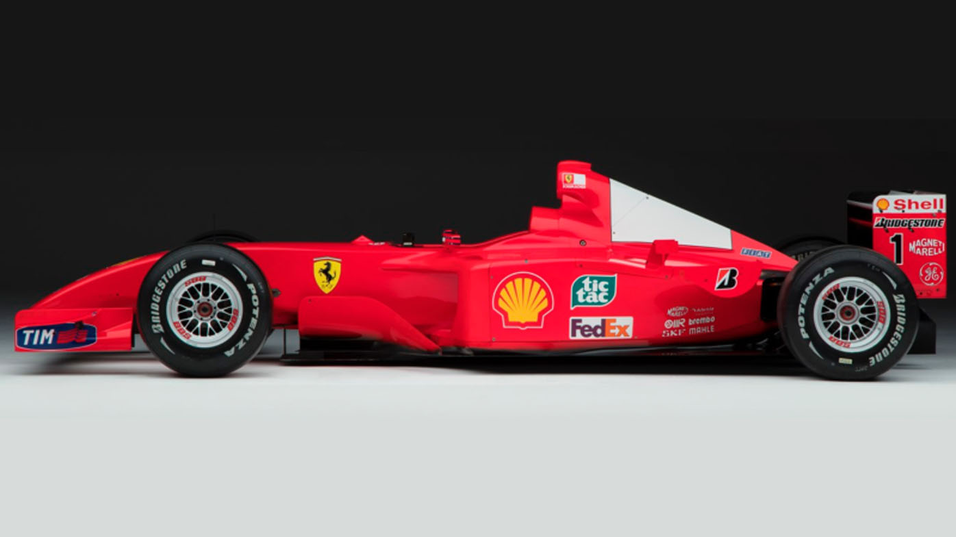 <strong>Michael Schumacher's F2001 Ferrari to fetch over $4 million at auction</strong>