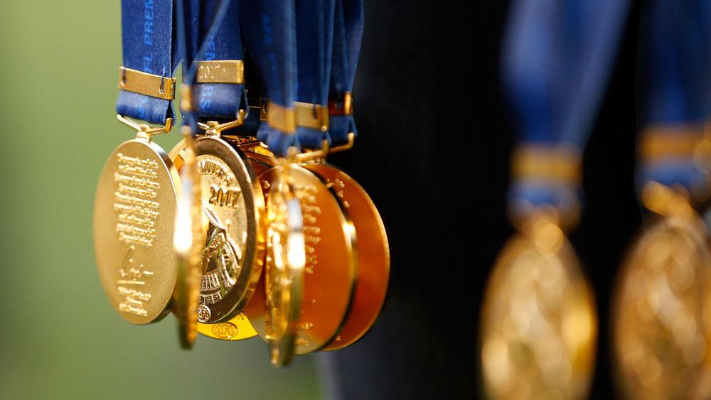 Premiership medals.