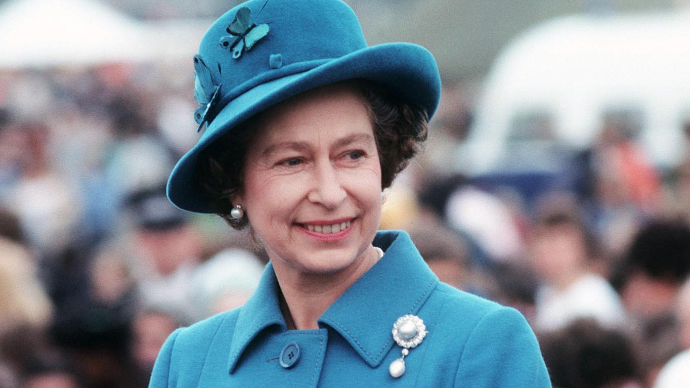 Queen Elizabeth II. Image Getty