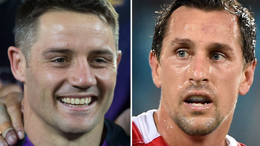 Cooper Cronk and Mitchell Pearce.