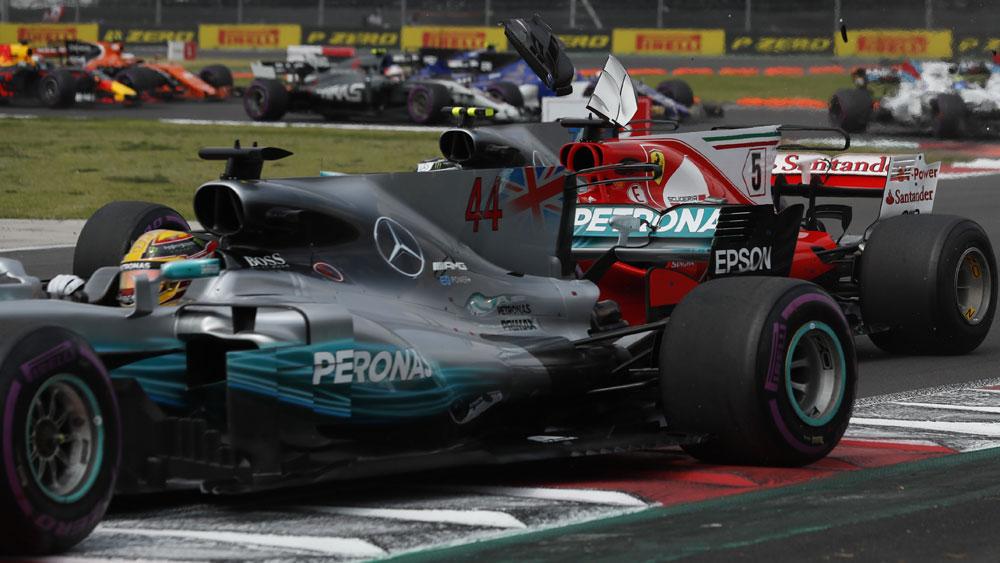 Lewis Hamilton and Sebastian Vettel.