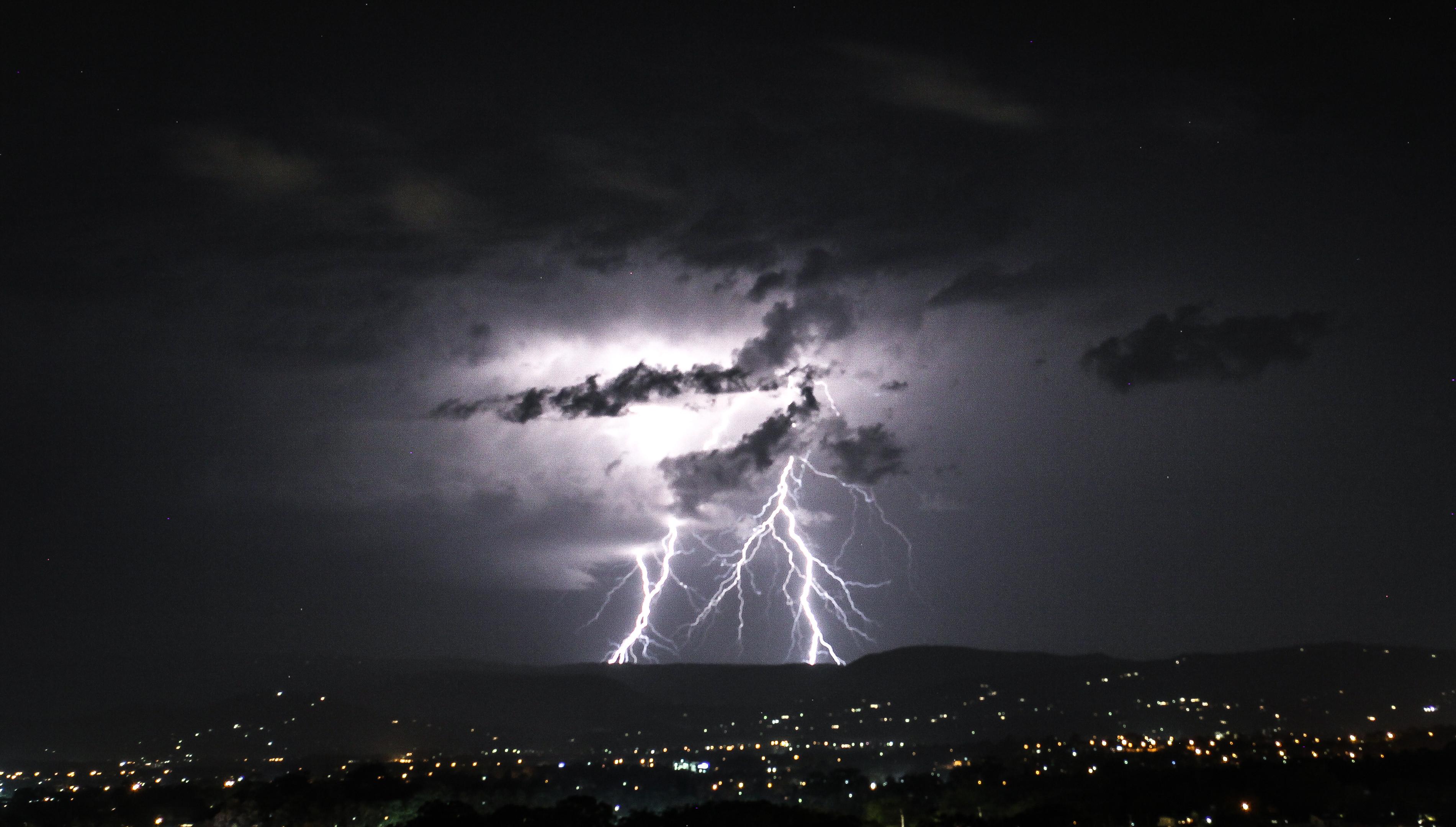 dangerous storms on parts of queensland