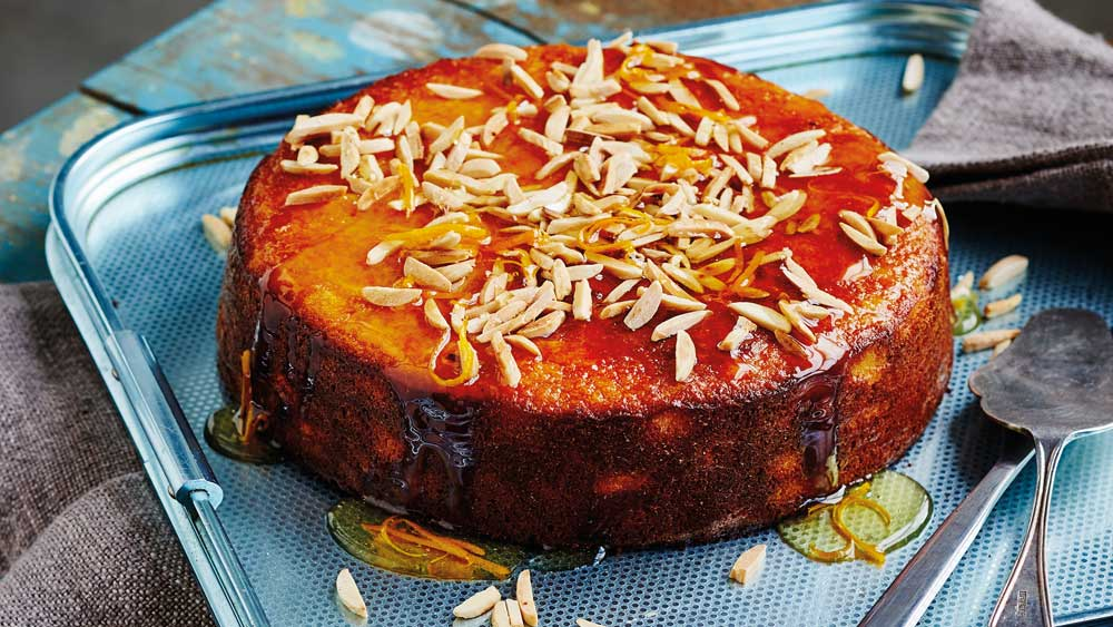 Classic Moist Flourless Orange Cake 9kitchen