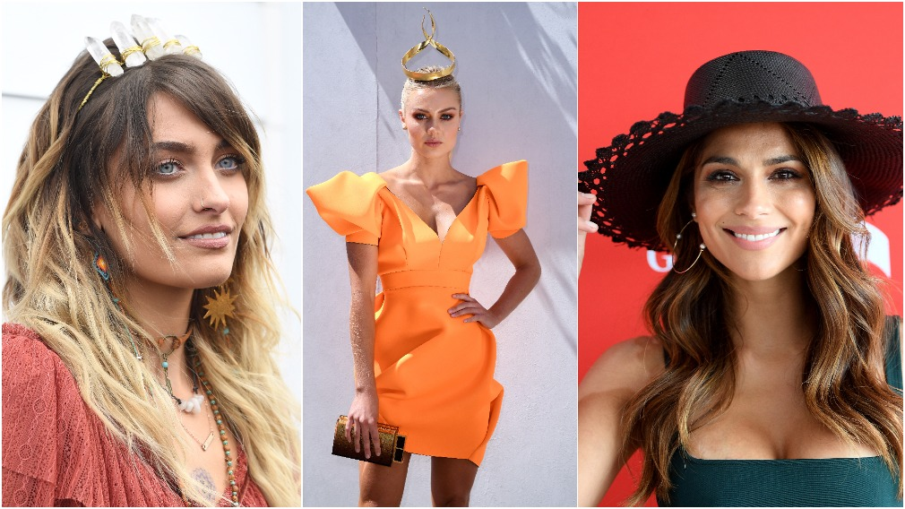 Melbourne Cup 2017 Celebrities Bring Glamour To