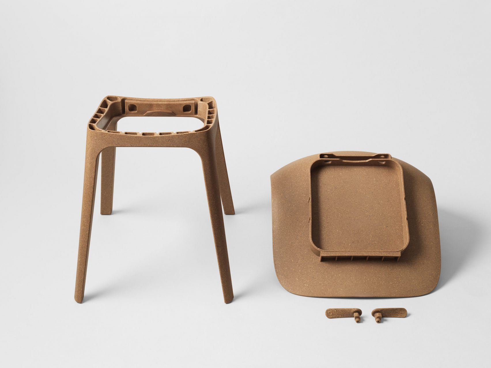 Ikea releases new chair made from recycled wood and plastic for Ikea sedia odger