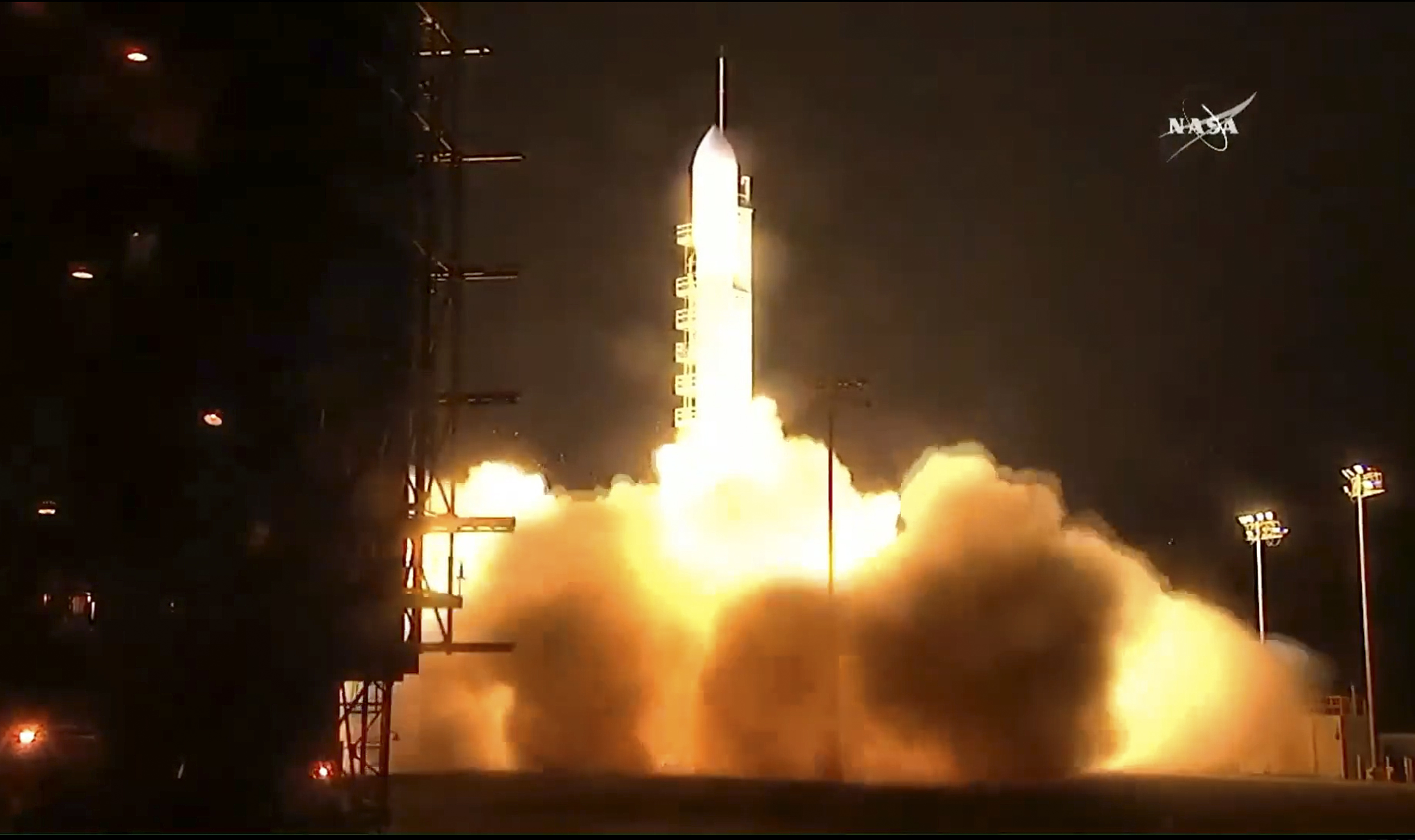Nasa Launches Weather Satellite To Help Forecast Fire And