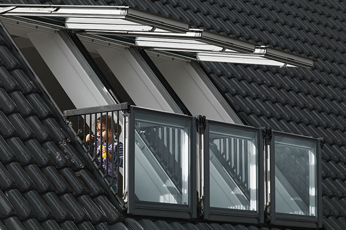 Clever Skylight Window Turns Your Roof Into A Balcony