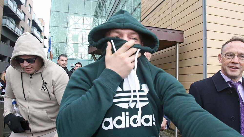 Plenty Of Laughs As Conor McGregor Pays Flying Visit To Blanchardstown Court