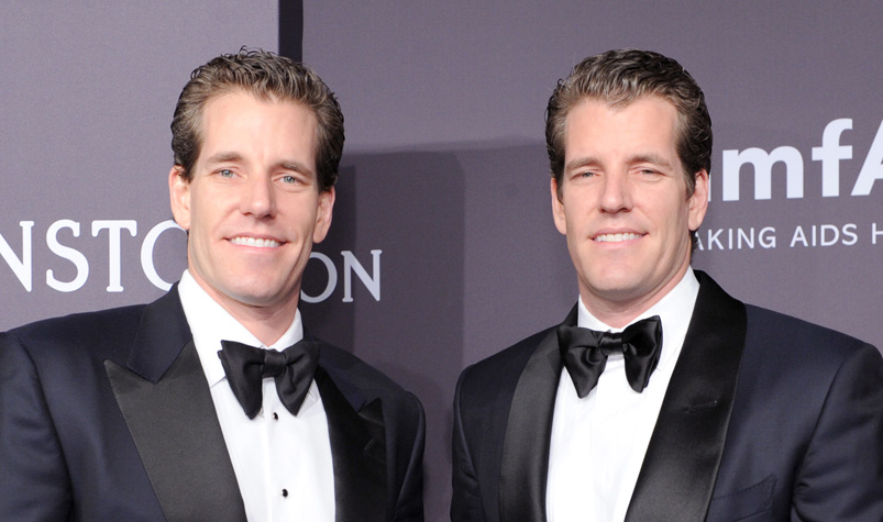 The Winklevoss Twins Just Became the First Ever Bitcoin Billionaires