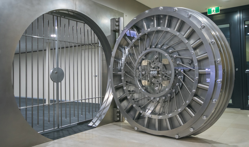 Inside The Bomb Resistant Airlocked Vault People Are
