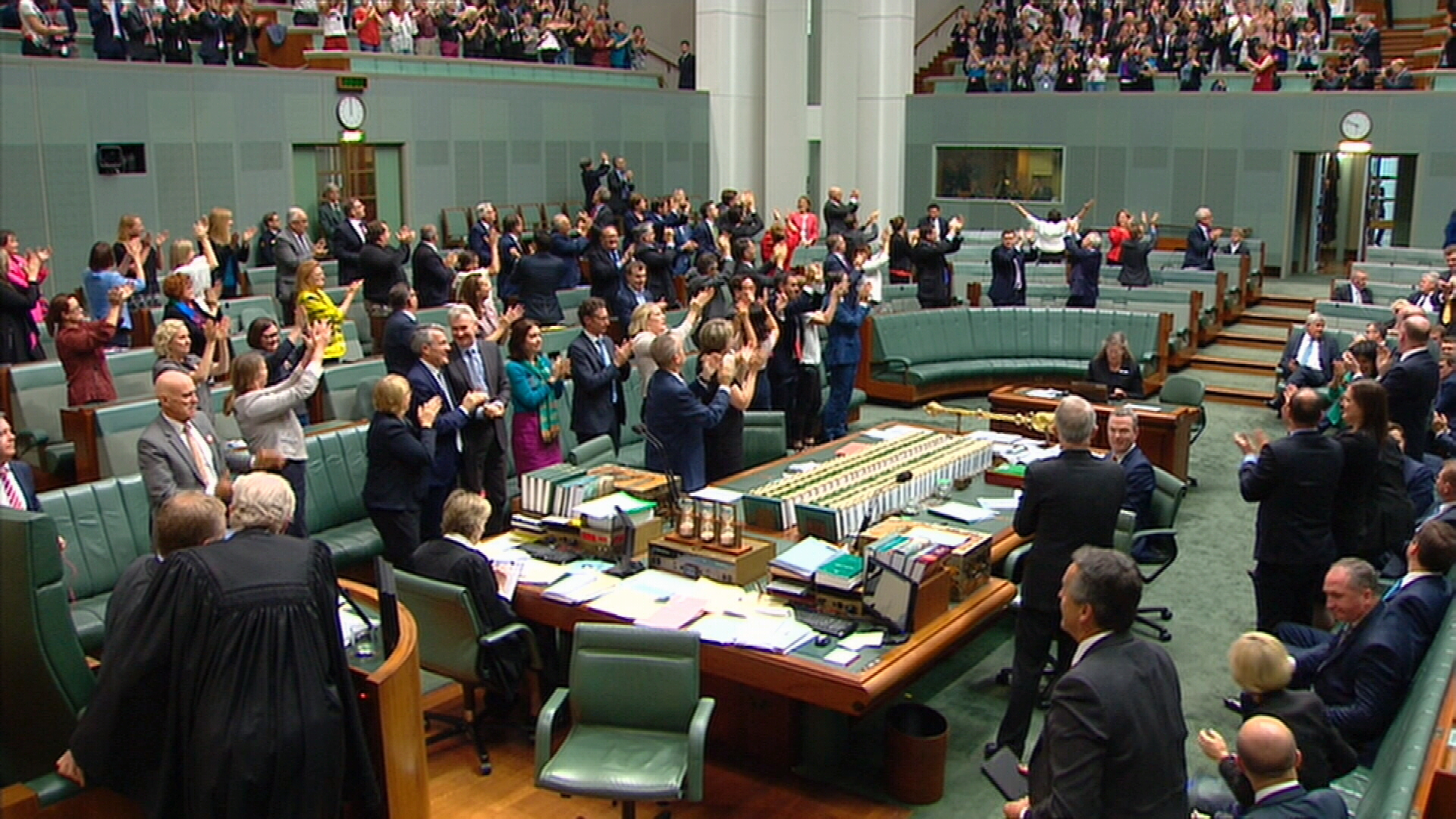 Same-sex marriage bill passes parliament