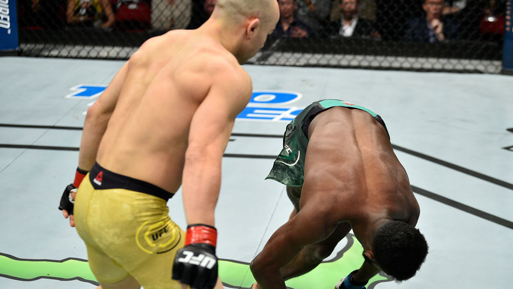 Marlon Moraes and Aljamain Sterling.