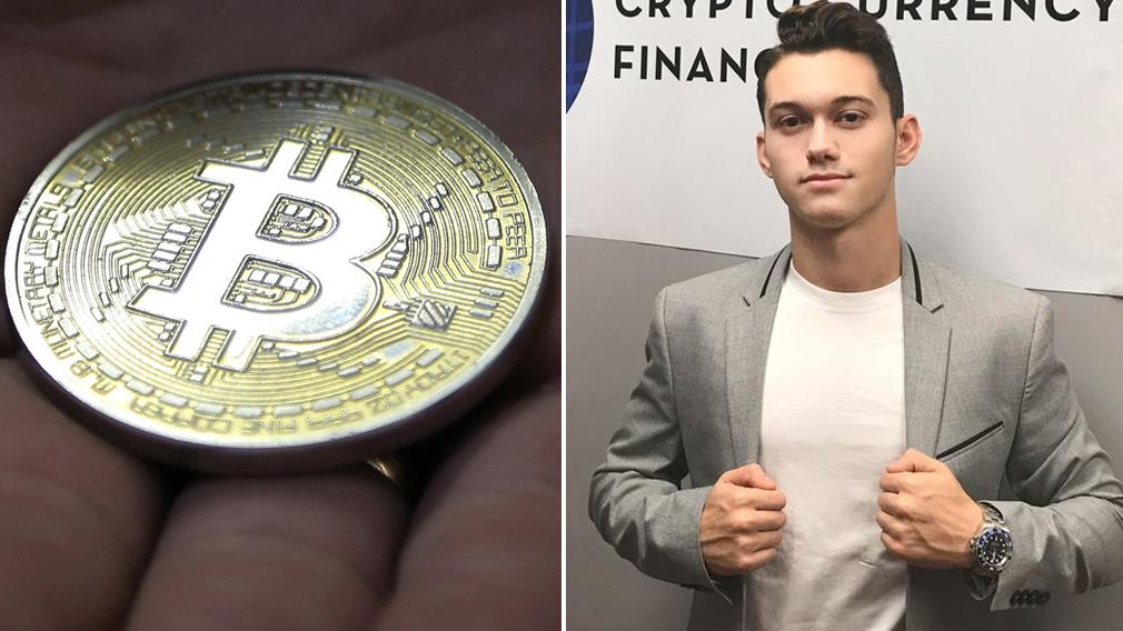 Bar mitvzah Bitcoin baron turns $5k into $500,000 - 9News