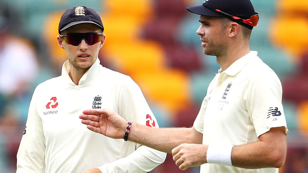 Joe Root and James Anderson.