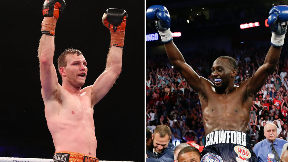 Jeff Horn and Terence Crawford.