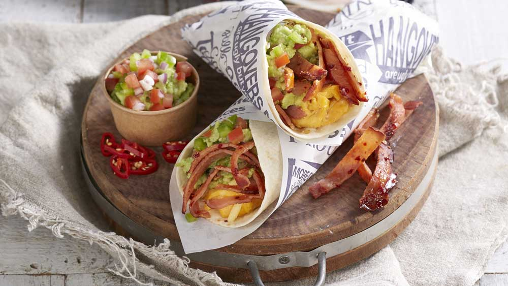 "Recipe: <a href=""https://kitchen.nine.com.au/2017/12/15/08/32/hangover-hero-breakky-bacon-burrito"" target=""_top"">Hangover hero spicy bacon  burrito wrap</a>"
