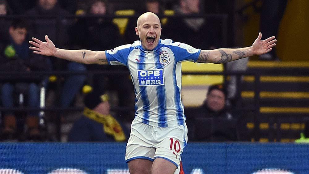 Huddersfield's Aaron Mooy