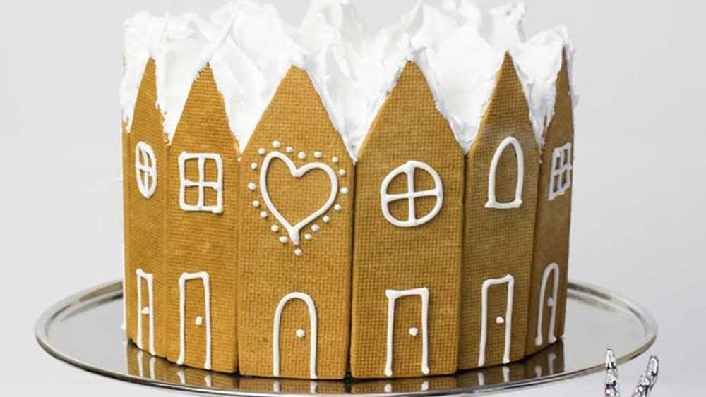 "Recipe: <a href=""https://kitchen.nine.com.au/2017/12/01/13/28/kirsten-tibballs-gingerbread-christmas-cake"" target=""_top"">Kirsten Tibballs' gingerbread Christmas cake recipe</a>"