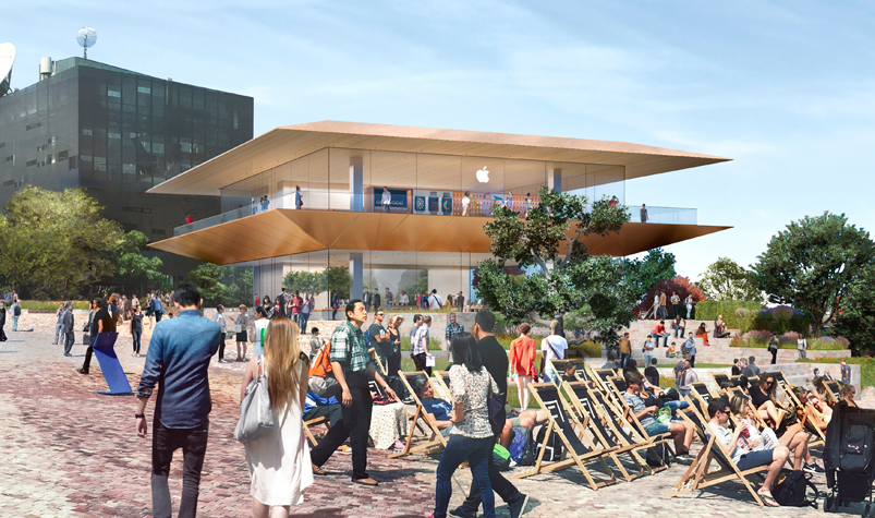 Apple's newest store set for Melbourne's Federation Square