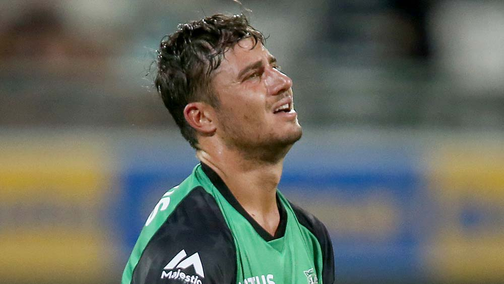 Marcus Stoinis: BBL: Marcus Stoinis Pays Tribute To Father After Falling