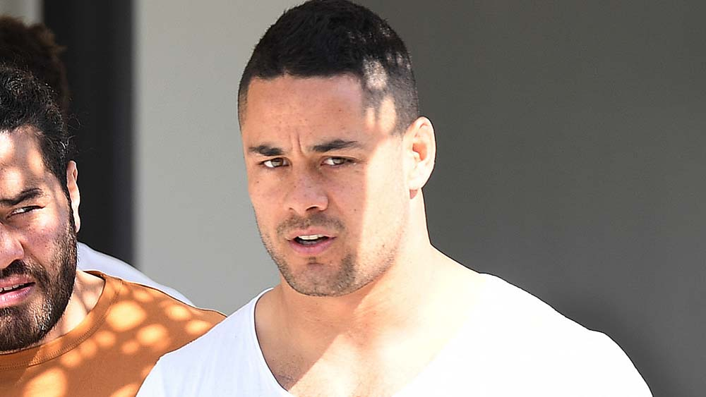 Jarryd Hayne in his time with the Titans