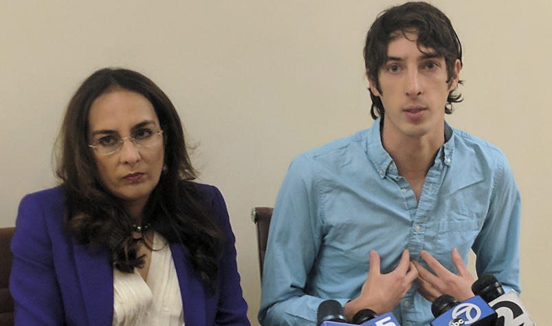 Fired Google engineer James Damore sues for discrimination - against white men