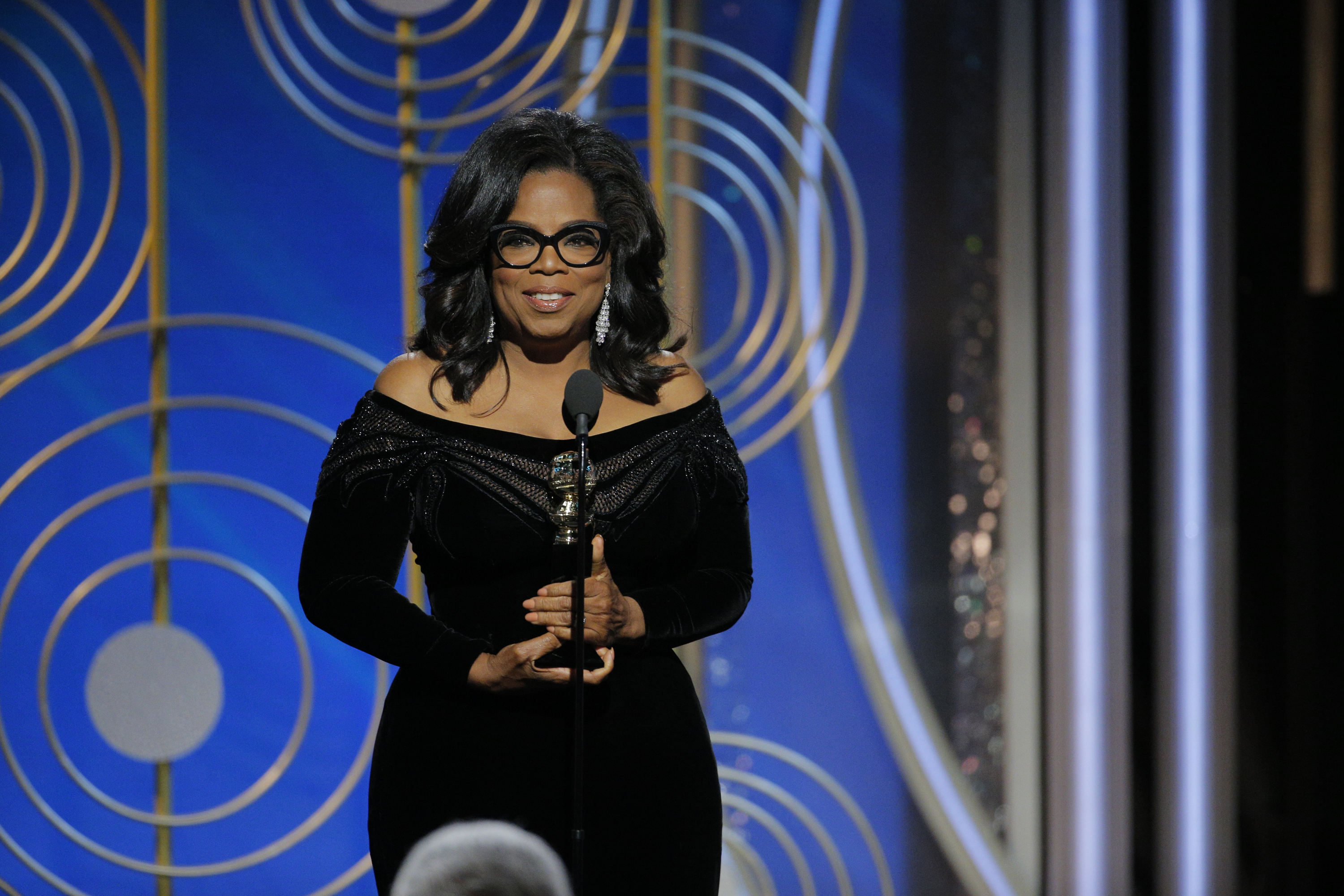 <strong>The world is all about Oprah Winfrey right now</strong>