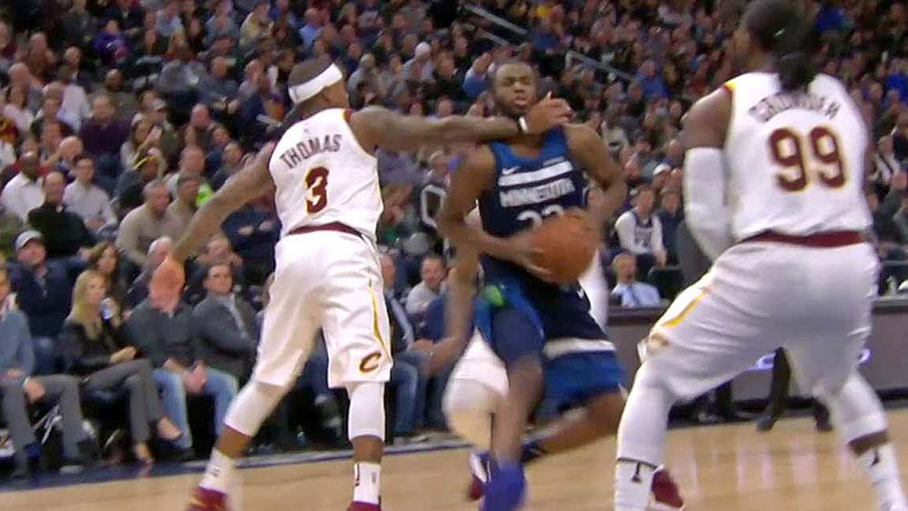 Isaiah Thomas fined $20K for clothesline on Andrew Wiggins
