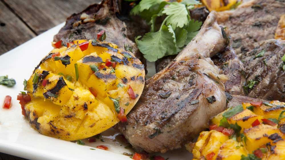 "Recipe: <a href=""https://kitchen.nine.com.au/2018/01/11/11/02/barbecue-mango-cheeks"" target=""_top"">Barbecue mango cheeks</a>"