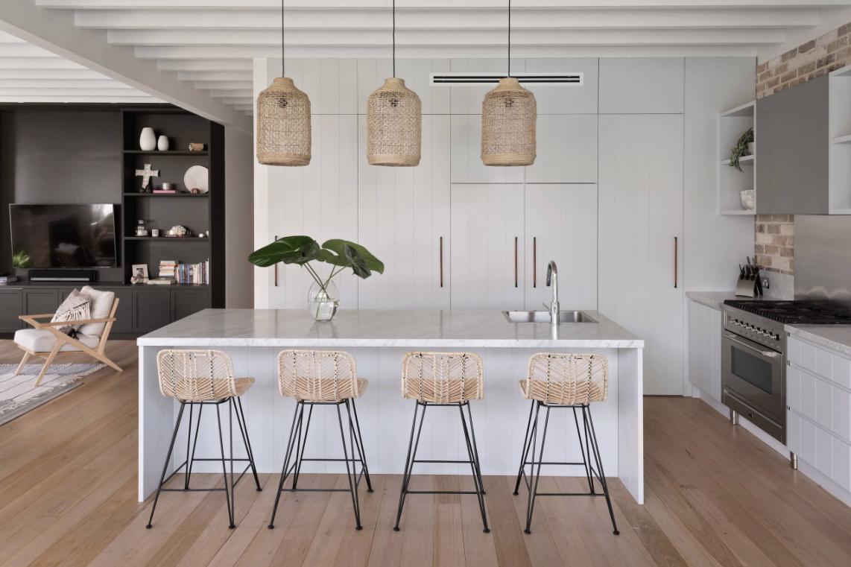 Sydney Federation home unrecognisable after coastal-style renovation