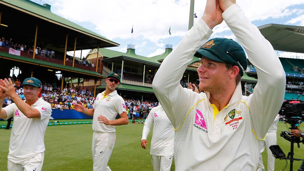 Australian captain Steve Smith