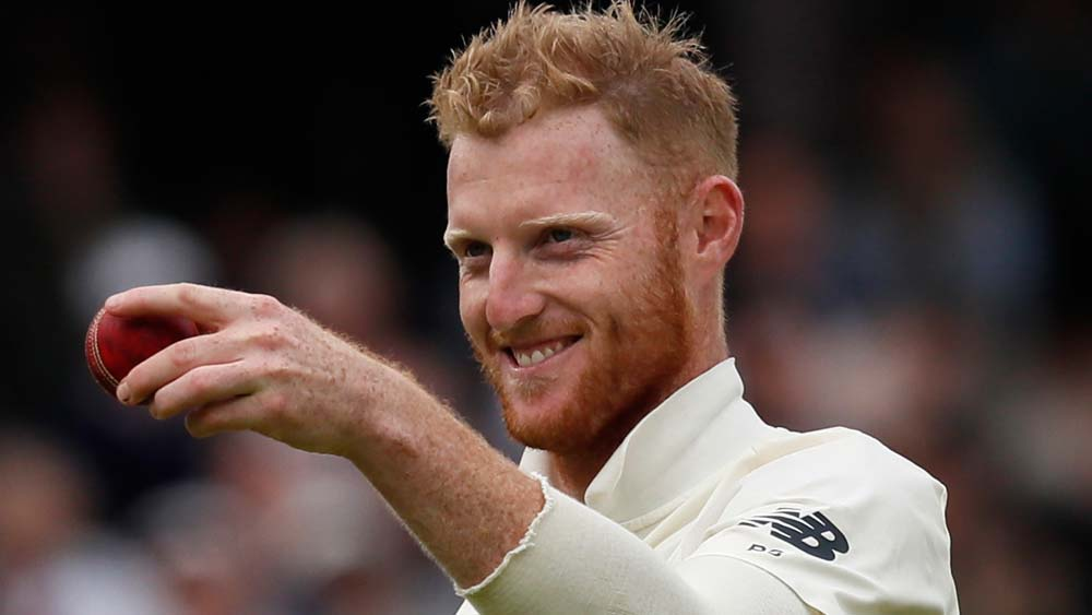 England's Ben Stokes