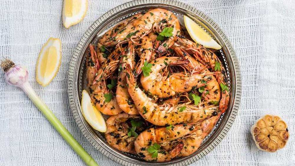 "Freshen up your barbecue, with minus the calories with these <a href=""http://kitchen.nine.com.au/2018/01/23/07/36/king-prawns-marinated-in-garlic-parsley-and-lemon-recipe"" target=""_top"">King prawns marinated in garlic, parsley and lemon</a>"