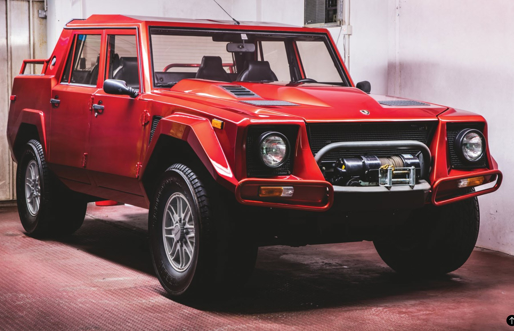 Ultra-rare offroad Lamborghini to fetch up to half a million at auction