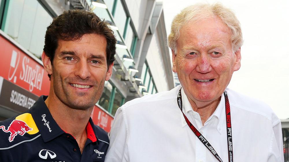 Mark Webber and Ron Walker.