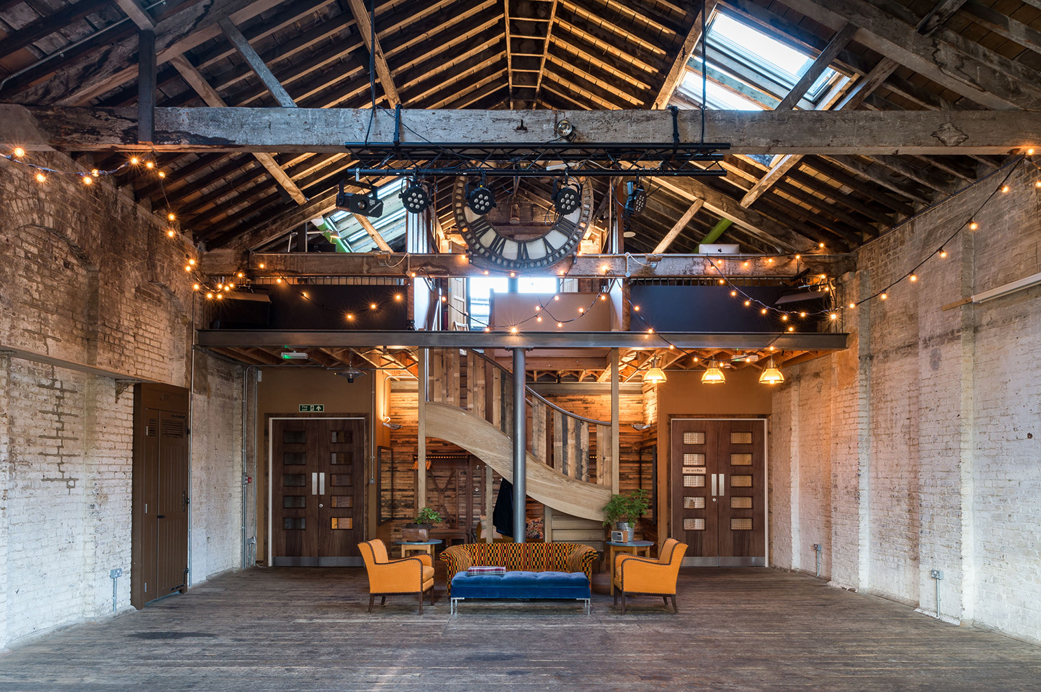 Hipster 39 s paradise converted warehouse in brixton with - Warehouse turned into home ...