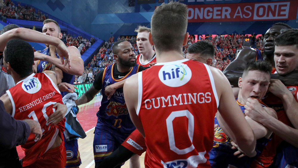 Perth Wildcats and Adelaide 36ers.