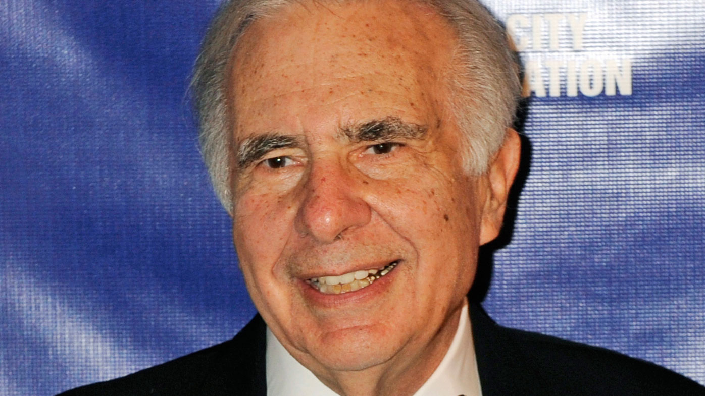 Carl Icahn calls USA  stock nosedive 'rumblings of an earthquake'