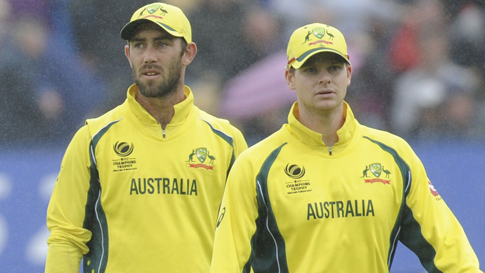 Glenn Maxwell and Steve Smith.