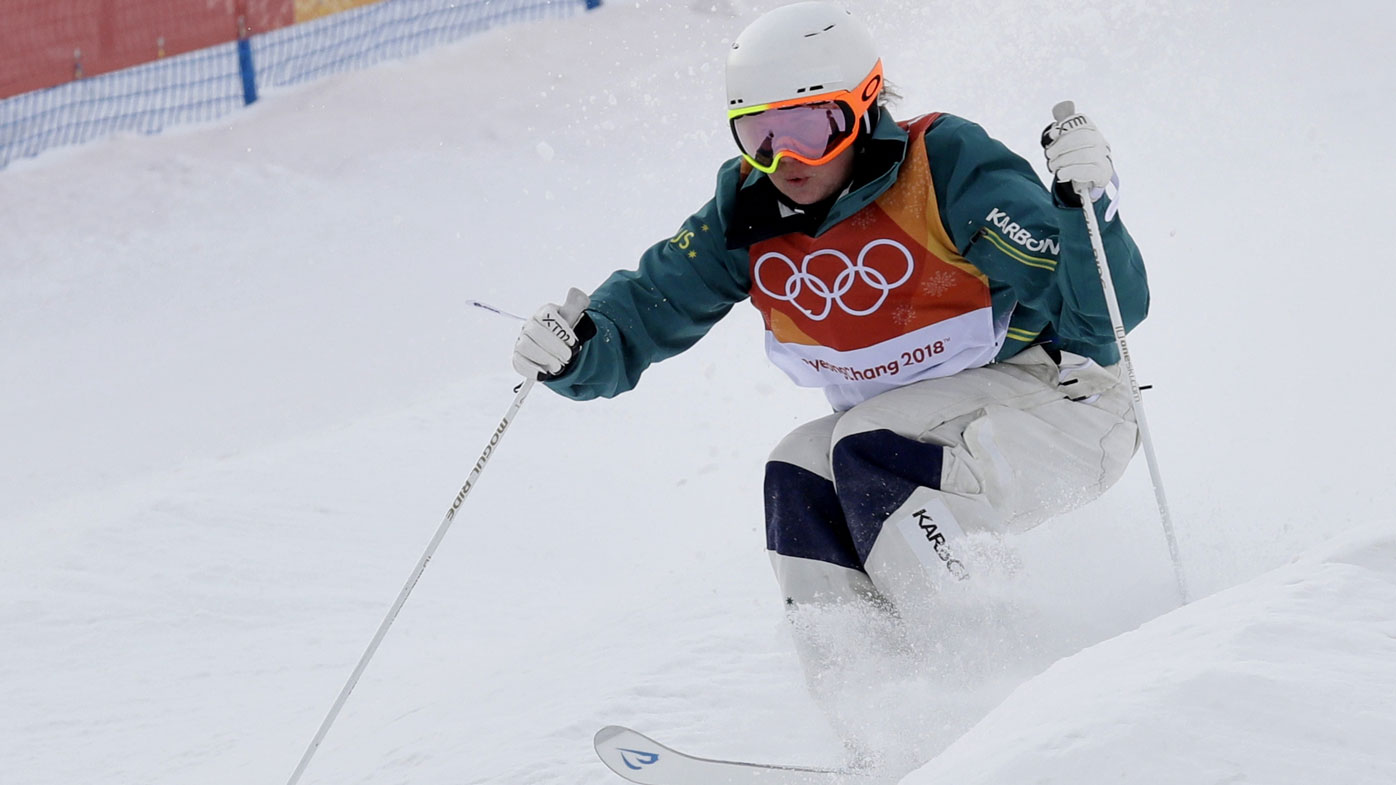 Olympics-Freestyle skiing-Canadian Kingsbury takes moguls gold
