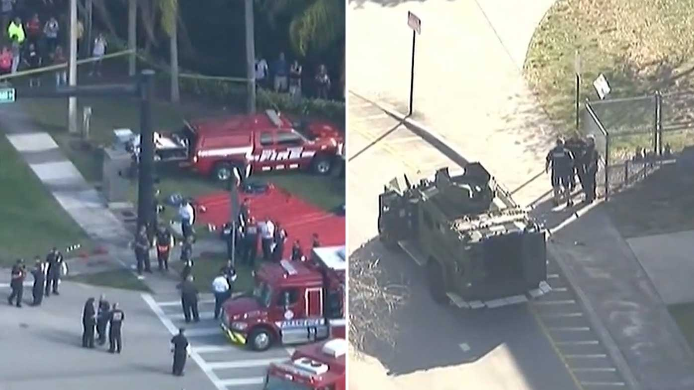 Florida school shooting: Multiple casualties at US high school